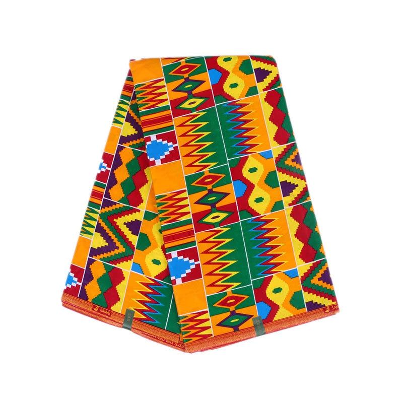 Mais recentes chegadas tecido africano verdadeiro 100% algodão colorido cera impressão tecido nigéria verdadeiro ancara cera real