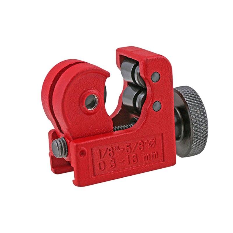 16mm(5/8), Mini tubo de Metal de hierro y cobre, tubo cortador de rebanadas, herramienta de corte kni-fe, multiherramientas de plomería, cizalla de alta calidad