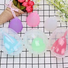 1pcs Reusable Lady Medical Grade Female Health Product Round Storage Box Silicone Menstrual Cup Box