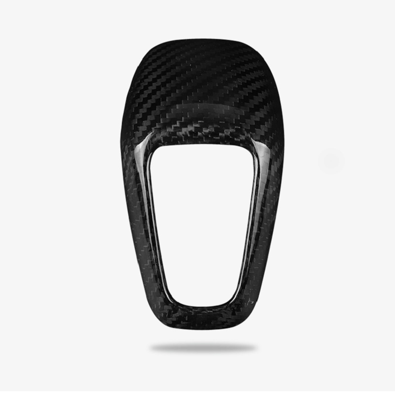 Dry Carbon Fiber Lever Trim Cover Modification Interior Fit For Porsche Cayenne 2018-2021 Refit Accessories enlarge