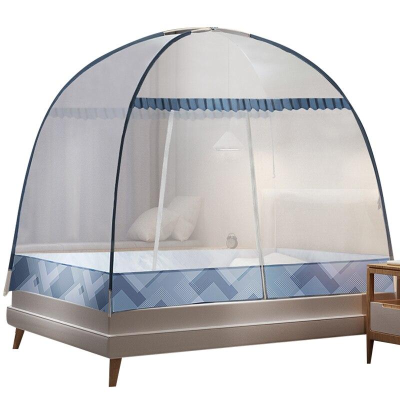 Mongolian yurt mosquito net household free installation  mosquito net  bed tent  mosquito tent
