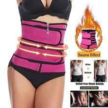 Women Waist Belt Waist Trainer Neoprene Belt Weight Loss Cincher Body Shaper Control Strap Slimming
