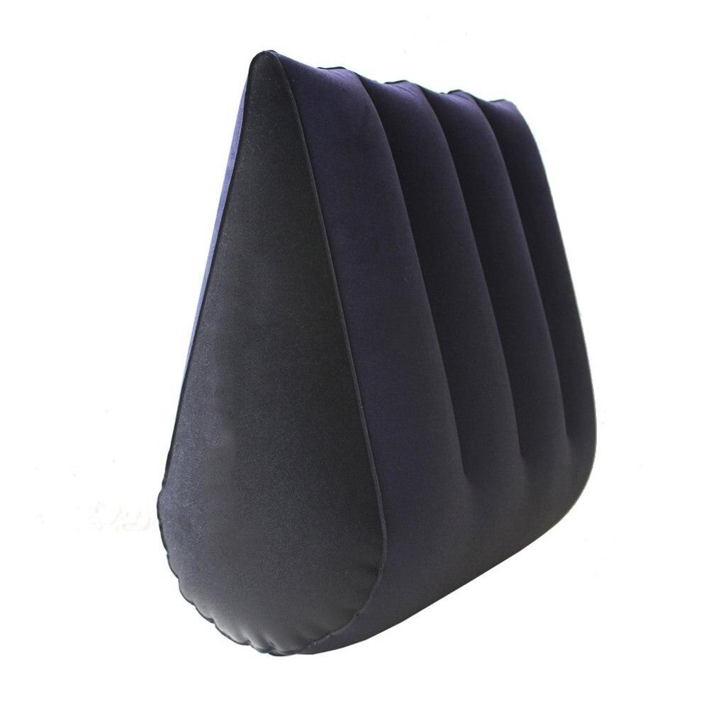 ПВХ Флокированная высокопрочная секс-подушка для пары, мебель для пары, надувная Волшебная подушка для любви, набор из 2 предметов
