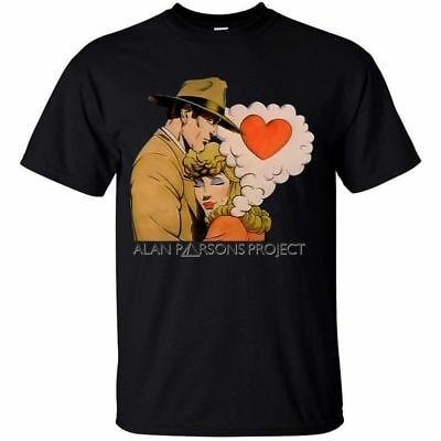 Camiseta gráfica de Alan Parsons Project, no Me contestes, vídeo (todas las...
