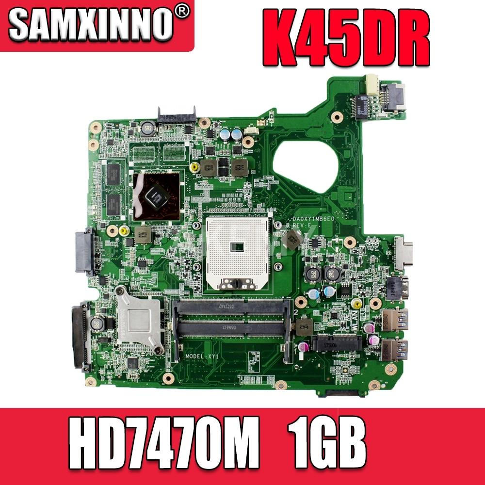 K45DR لوحة الأم HD7470M 1GB ل Asus A45D A45DR K45D اللوحة المحمول K45DR اللوحة الرئيسية K45DR اللوحة الأم اختبار 100% ok