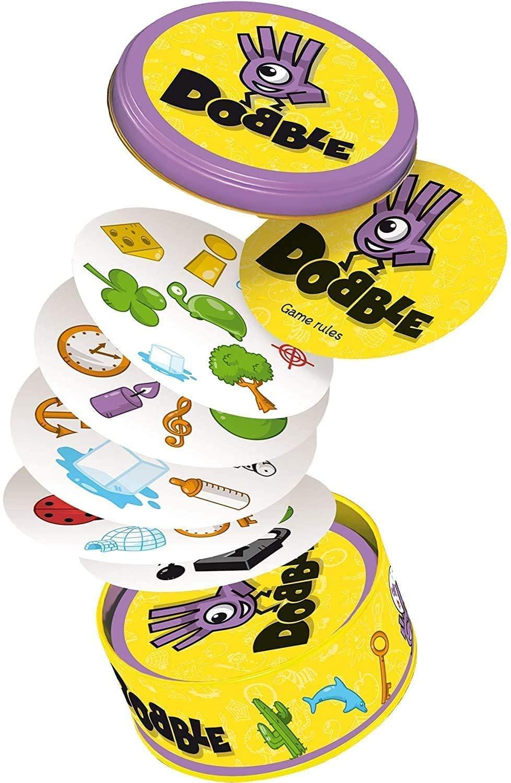 spot-it-juego-de-cartas-con-caja-de-metal-enjoy-it-para-reuniones-familiares-zoo-doble-hp-rojo-clasico-mlg-2020-alta-calidad
