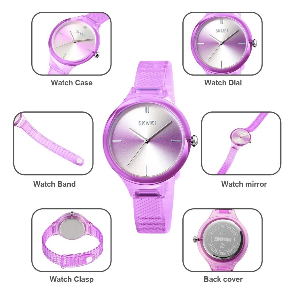 SKMEI Women Watches Luxury Top Brands Simple Quartz Wrist Watch Fashion Female Girl Clock Relogio Feminino Ladies Wristwatches enlarge
