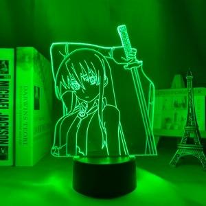 3d Lamp Anime Light Akame Ga Kill Home LED Night Light Bedroom Decoration Night Light Birthday Gift Night Light