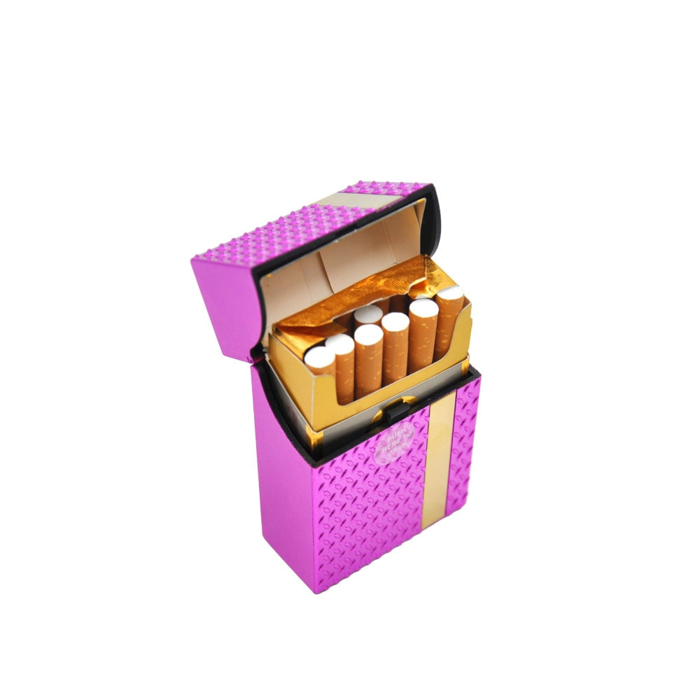 Mode Mann Frau Kunststoff Zigarette Fall Abdeckung 87MM * 55MM * 22MM Für Regelmäßige Zigaretten Fall Halter harte Tabak Box