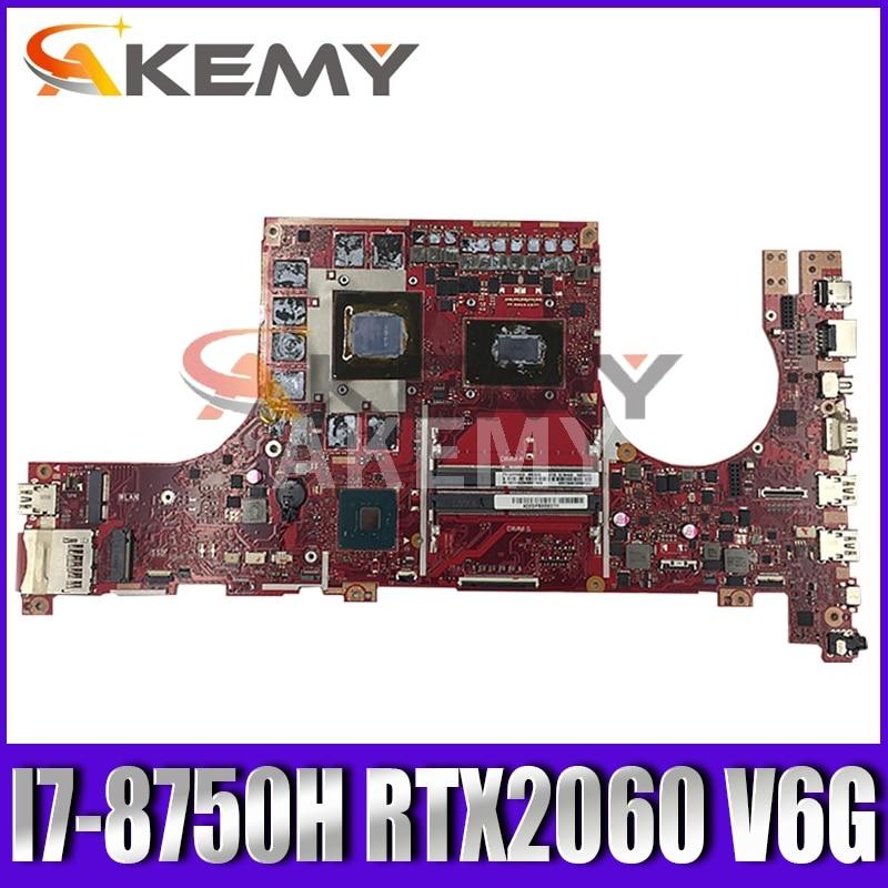 GL504GW اللوحة لابتوب ASUS ROG Strix ندبة II GL504GS اللوحة الأصلية HM370 I7-8750H RTX2060 V6G