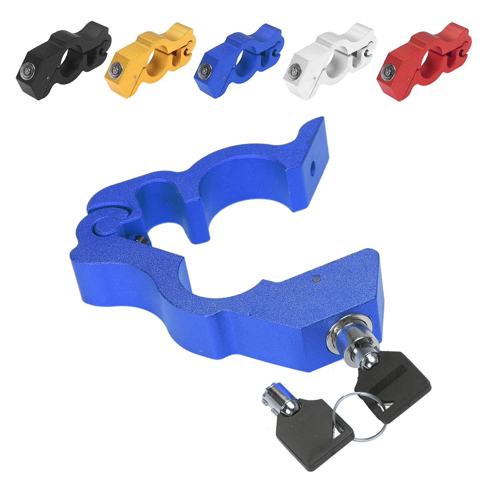Тормозной рычаг, замок на руль, зажим, противоугонные защитные колпачки-замок для большинства скутеров, квадроциклов, мотоциклов, алюминий
