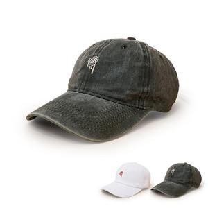 2021 four seasons Cotton rose flower Casquette Baseball Cap Adjustable Snapback Hats for men and women 07
