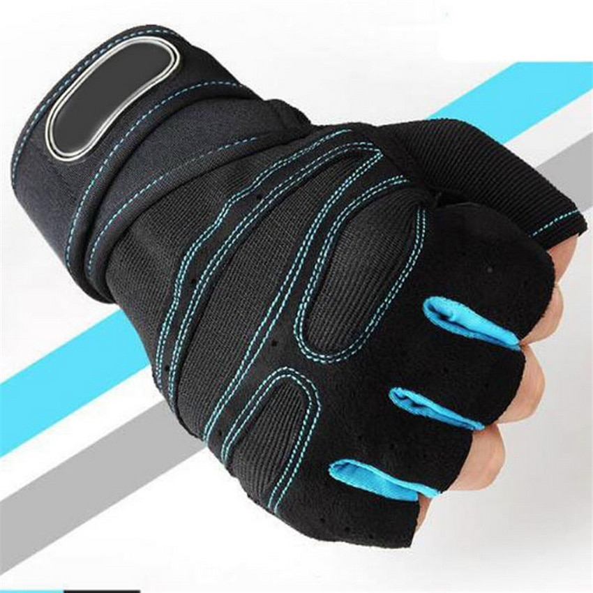 Fitness Weight Lifting Gloves Half Finger Gym Sports Exercise Body Building Training Sport