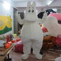 hippo mascot costume suits cosplay party game dress outfits cartoon advertising promotion carnival halloween xmas adults