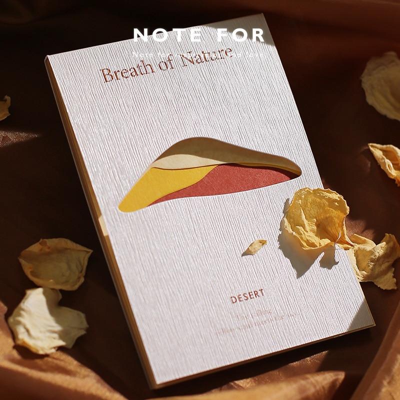 Jianwu 30 pçs série respiração natural bloco de memorando retro simples material misto diário scrapbooking suprimentos papelaria da escola papel