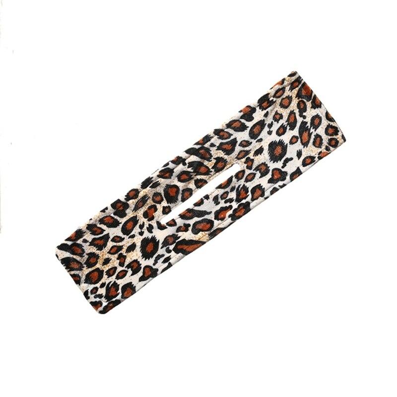 Elegant Deft Bun French Twist Hairstyle Bun Former Lightweight Leopard Print Cloth Gorgeous Hair Bands Summer Hot Item D5QB