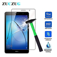 Закаленное стекло для Huawei Mediapad T3 8 дюймов, 9H Взрывозащищенная защитная пленка на ЖК-экран для KOB-L09 W09