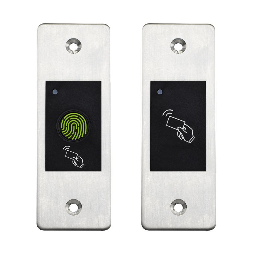 Gate Door lock RFID Metal Fingerprint Access Control scanner 800 users Mini Metal IP66 Waterproof Em