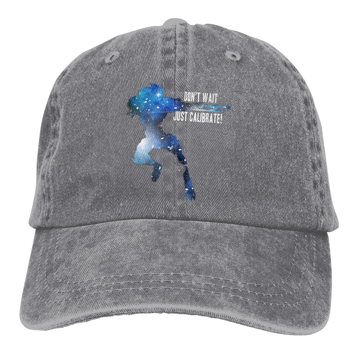 Siluetas Garrus no espere sólo calibrar gorra de béisbol hombres gorras mujeres Snapback Mass Effect Caps
