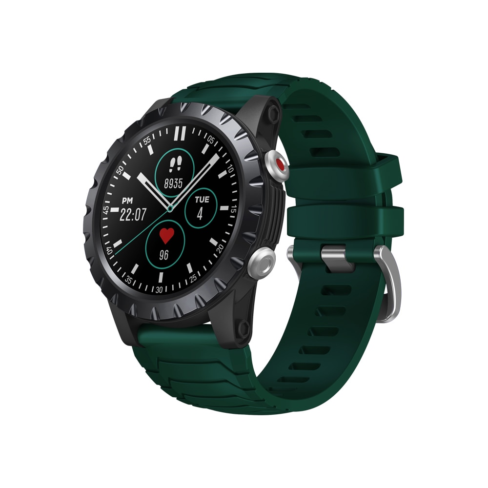 Promo New Zeblaze Stratos GPS Exercise Tracking Blood Oxygen Blood Pressure Heart Rate Monitoring Touch Screen Waterproof Smart Watch