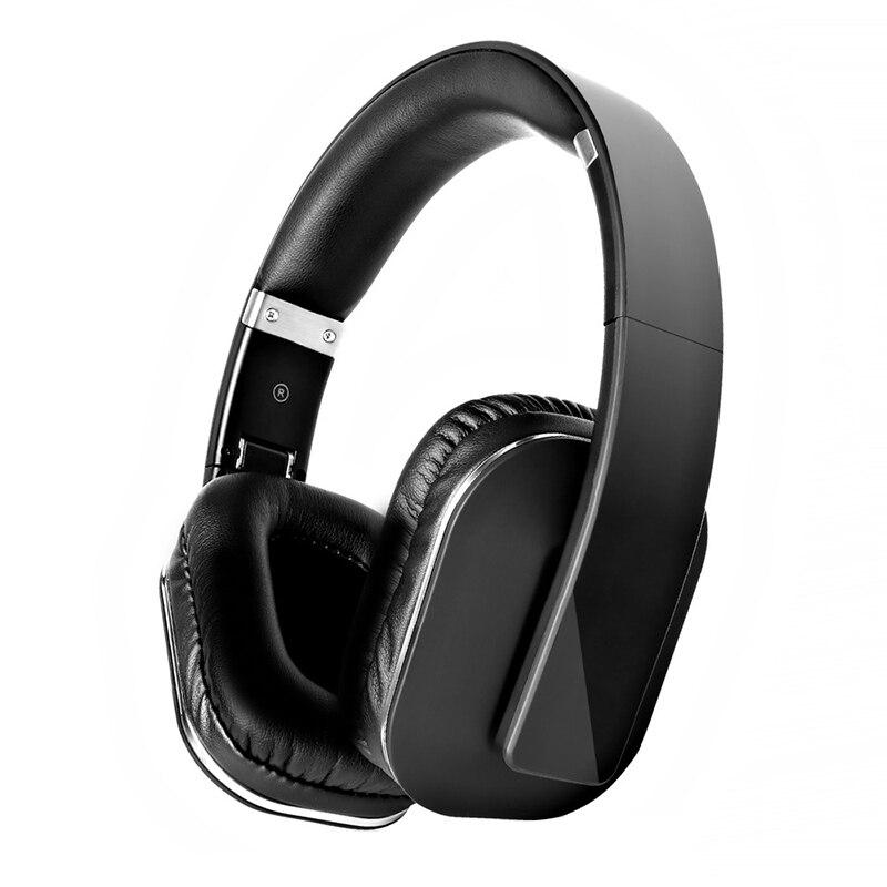 Bluetooth sem Fio Fones de Ouvido Longa com Cancelamento Gaming Alta Fidelidade Couro Overear Bateria Baixa Latência 40ms Bt5.0 2mic Enc