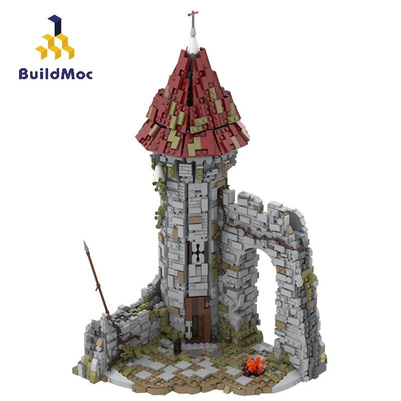 BuildMoc Architecture MOC Creator Expert House ، لعبة Castle Dark soul ، مخازن Smithy ، مكعبات البناء ، الهندسة المعمارية ، لعبة هدية