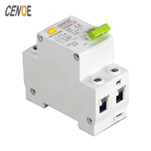 Circuit de protection contre les fuites DPNL 1P + N 32A 230V 50HZ/60HZ   Circuit de protection contre les circuits courts et à la mode CE