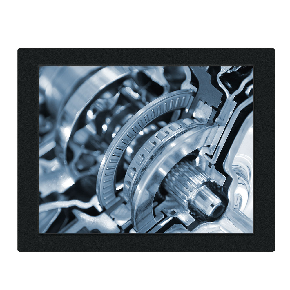 8.4 Inch Industrial PC All in One Resistance Touch J1800 Motherboard 32g SSD 2g RAM Wall Mounting Embedded Installation