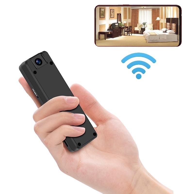 JOZUZE HD كاميرا صغيرة لاسلكية واي فاي كاميرا فيديو صغيرة كاميرا على شكل قلم الجسم كام يرتديها كاميرا حلقة تسجيل كام كشف الحركة