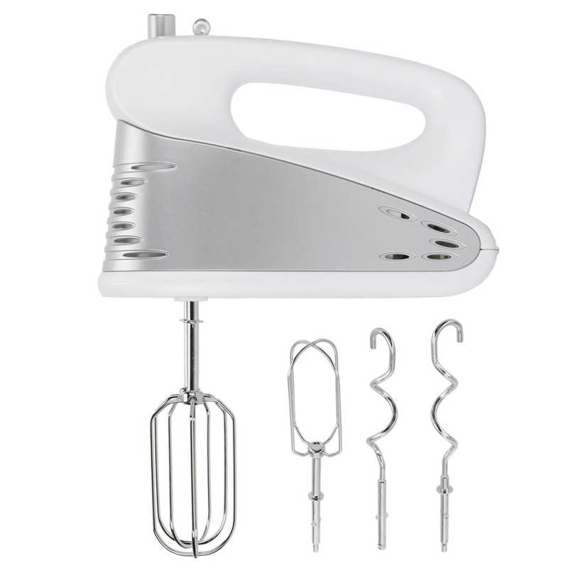 zhoutu 2 in 1 stand mixer 5 speeds electric mixer hand mixer with 3 5l stainless steel mixing bowl whisk beaters Electric Foamer 200W Electric Hand Mixer 5 Speeds Handhold Mixer with Mixing Sticks EU Plug 220V Kitchen Appliances