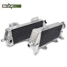 BIKINGBOY refroidisseur de refroidissement à eau   Pour Kawasaki KDX 200 1997-2006 KDX 220 1997-2005 MX Offroad, moteur en aluminium, radiateurs