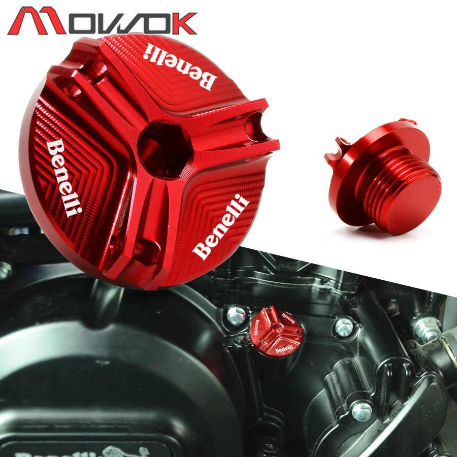 2019 Neue Motorrad Motor Magnetische öl Füllstoff Stecker High Qualit Für Benelli Trk 502 Leoncino 500 250 Bj 250 500 Tnt 125 300 600