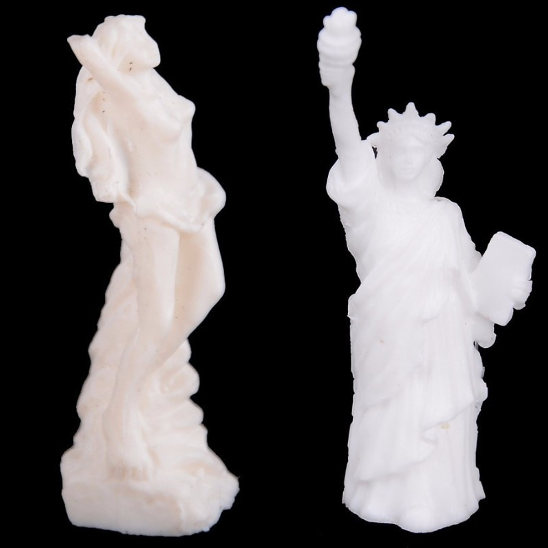 Mini Resin Goddess Statue/Fair Angels Resin Sculpture,People Ornaments,Vintage Statue Of Liberty Nature Doll Accessories liberty people