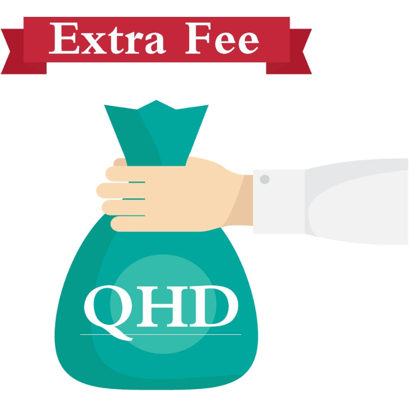Extra fee for qhd