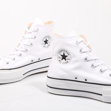 Converse Chuck classic Taylor All Star women's skateboarding shoe and platform, black  Luxury brand