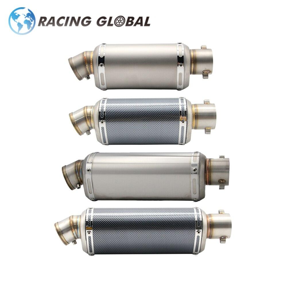 Silenciador de tubo de Escape ALCON Racing para motocicleta AK 38-51MM, sistema de Escape Slipon para motocicleta, rendimiento de competición