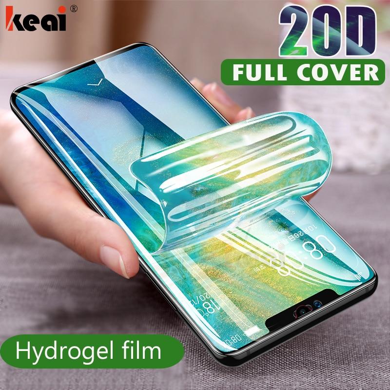 20D מסך מגן הידרוג 'ל סרט עבור Huawei P40 P20 P30 לייט מגן סרט עבור Huawei Mate 20 פרו 10 לייט סרט לא זכוכית
