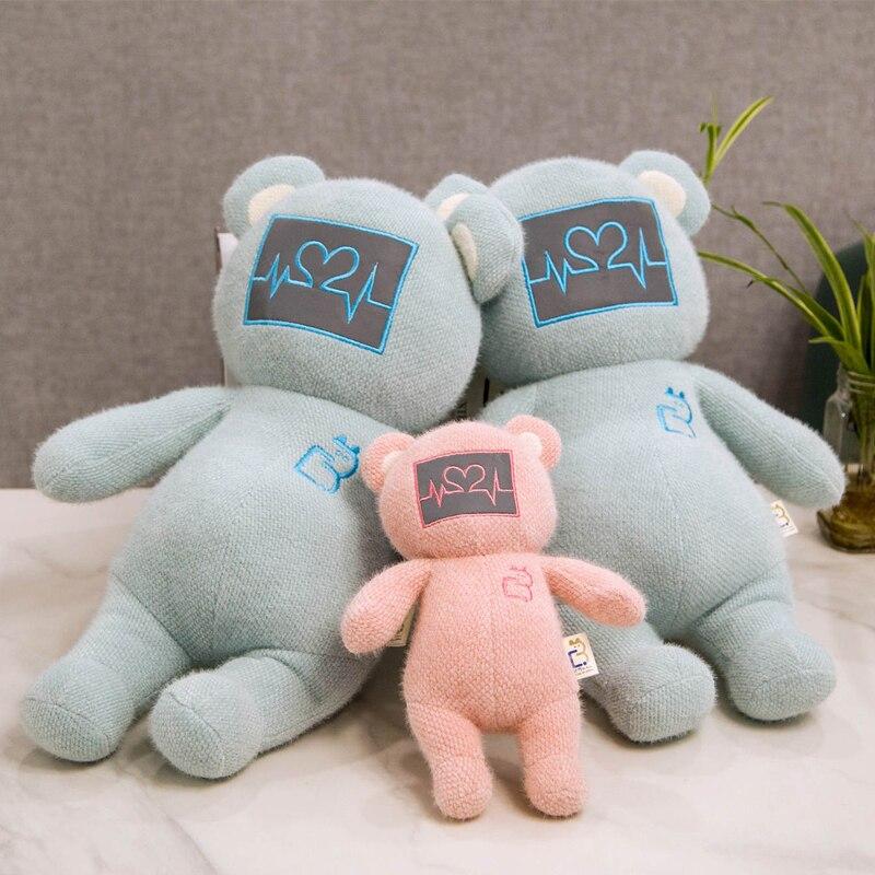 1 unidad de osito de peluche con forma de corazón bonito, oso de peluche para niños, niñas, cumpleaños, fiesta, regalos del Día de San Valentín
