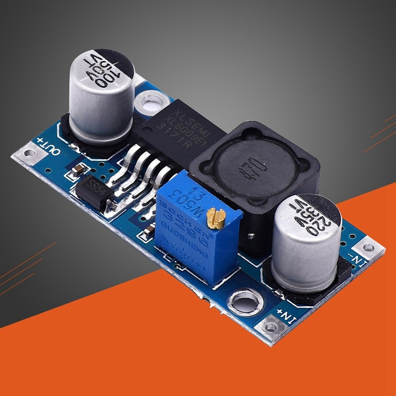 DC-DC Durable Boost Module 3-32V 4A Adjustable Step Up Converter XL6009 Power Supply Module Electric