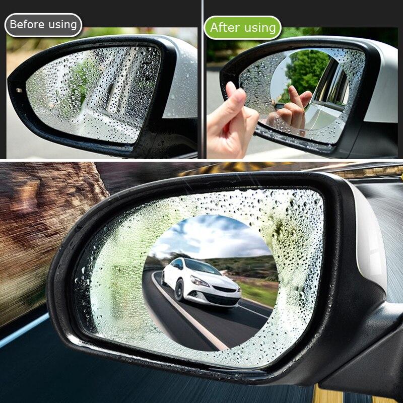 2 uds espejo retrovisor para coche película protectora Anti niebla claro impermeable suave protector película para Dodge calibre viaje ram estilo de coche