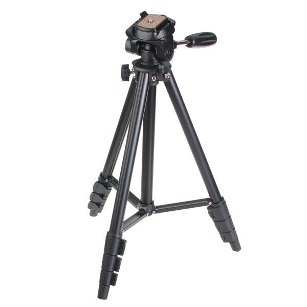 VCT-681 Portable Camera Tripod Stand With Portable Bag For Canon 550D 600D 500D 5D