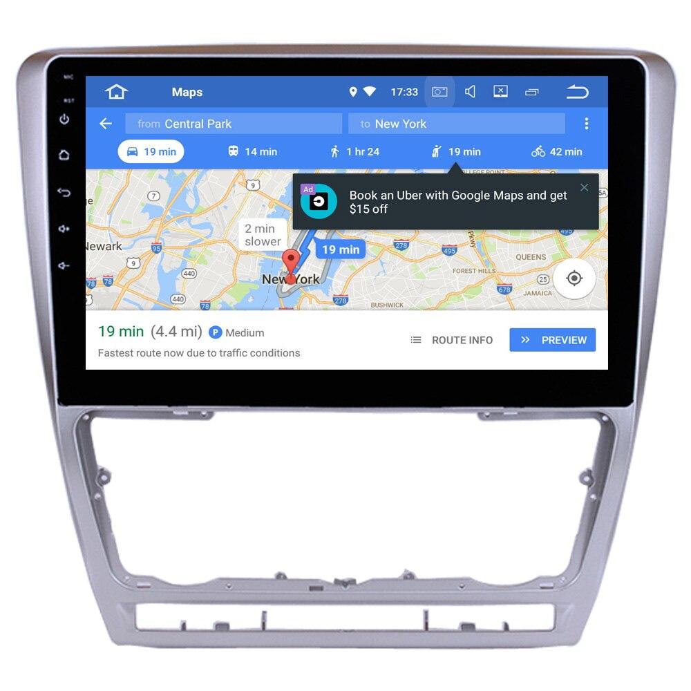 Reproductor Multimedia para coche Skoda Octavia 2007 2008 2009 - 2014 Android 8,1 piezas de repuesto para coche accesorios de ajuste MirrorLink