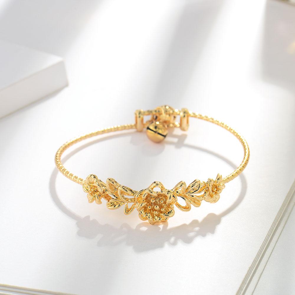 Viennois moda ouro cor pulseira & pulseiras para crianças corrente pulseira na moda festa de casamento jóias 2019