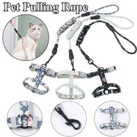 cute chest strap safe pet products comfortable practical pet traction rope durable dog leash gentle breeze dog pulling rope
