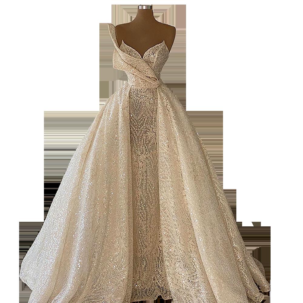 Vestido de novia para boda civil, vestido de boda de busto exagerado...