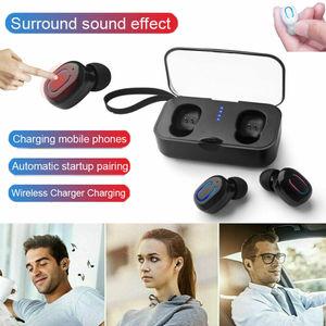 PYMH 2019 New Mini TWS Airdots Headset  Wireless In-Ear Bluetooth 5.0 Earphone Headphone Stereo Earbuds !