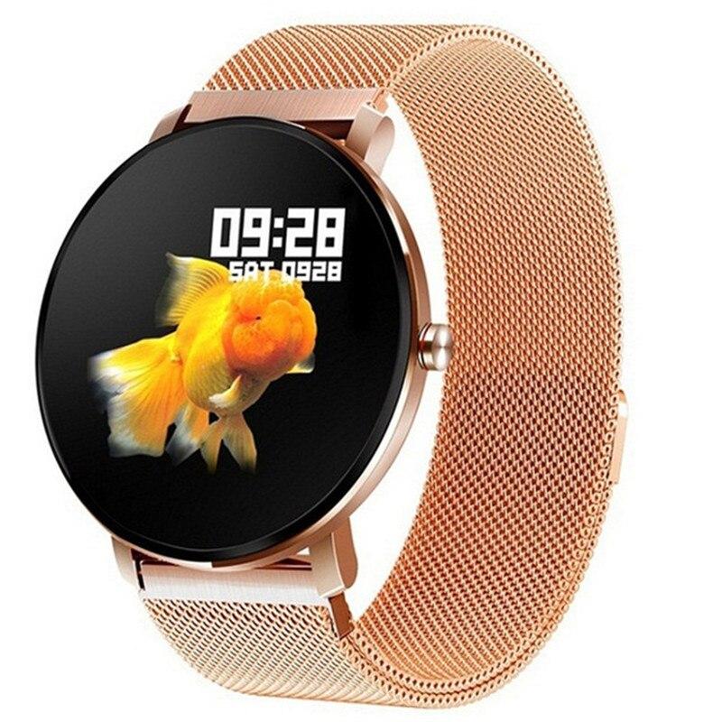 Polegada de Toque Arterial da Frequência Ip68 à Prova Relógio Inteligente Completo Masculino Monitor Pressão Cardíaca Fitness Rastreador Dip68 Água Mulher Smartver m k9 Pro 1.3