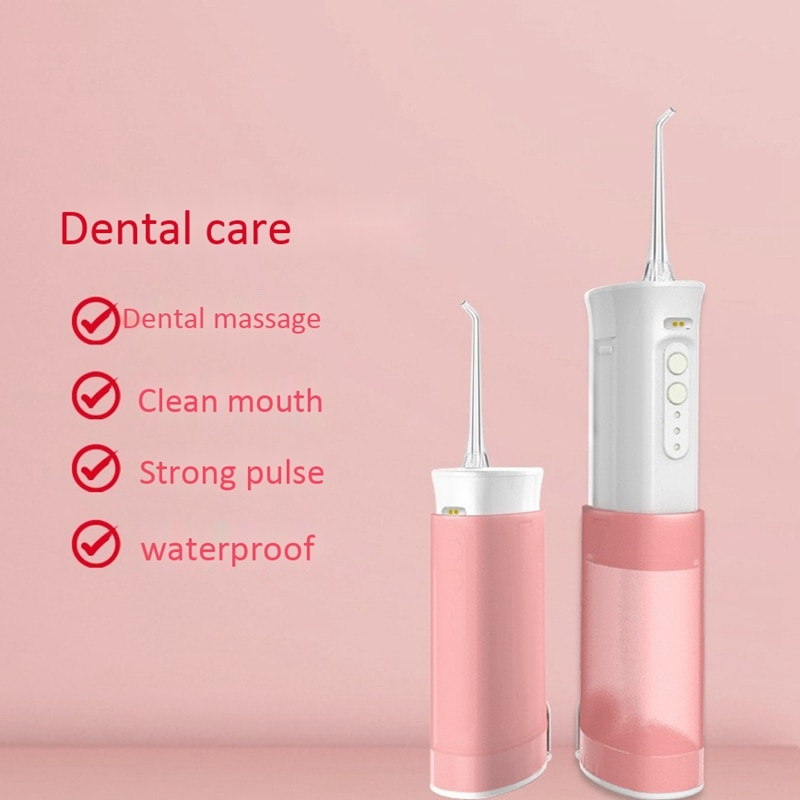 Electric Oral Irrigator Tooth Calculus Oral Irrigator USB Rechargeable Teeth Health Hygiene  Scaler enlarge