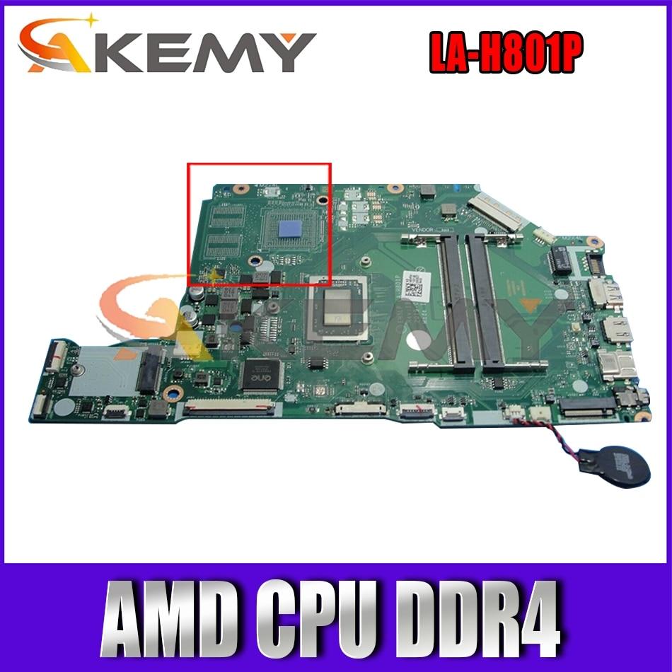 ل أسباير أيسر A315 A515 A315-42 A515-43 اللوحة المحمول EH5LP LA-H801P MB مع AMD CPU DDR4 100% اختبارها بالكامل