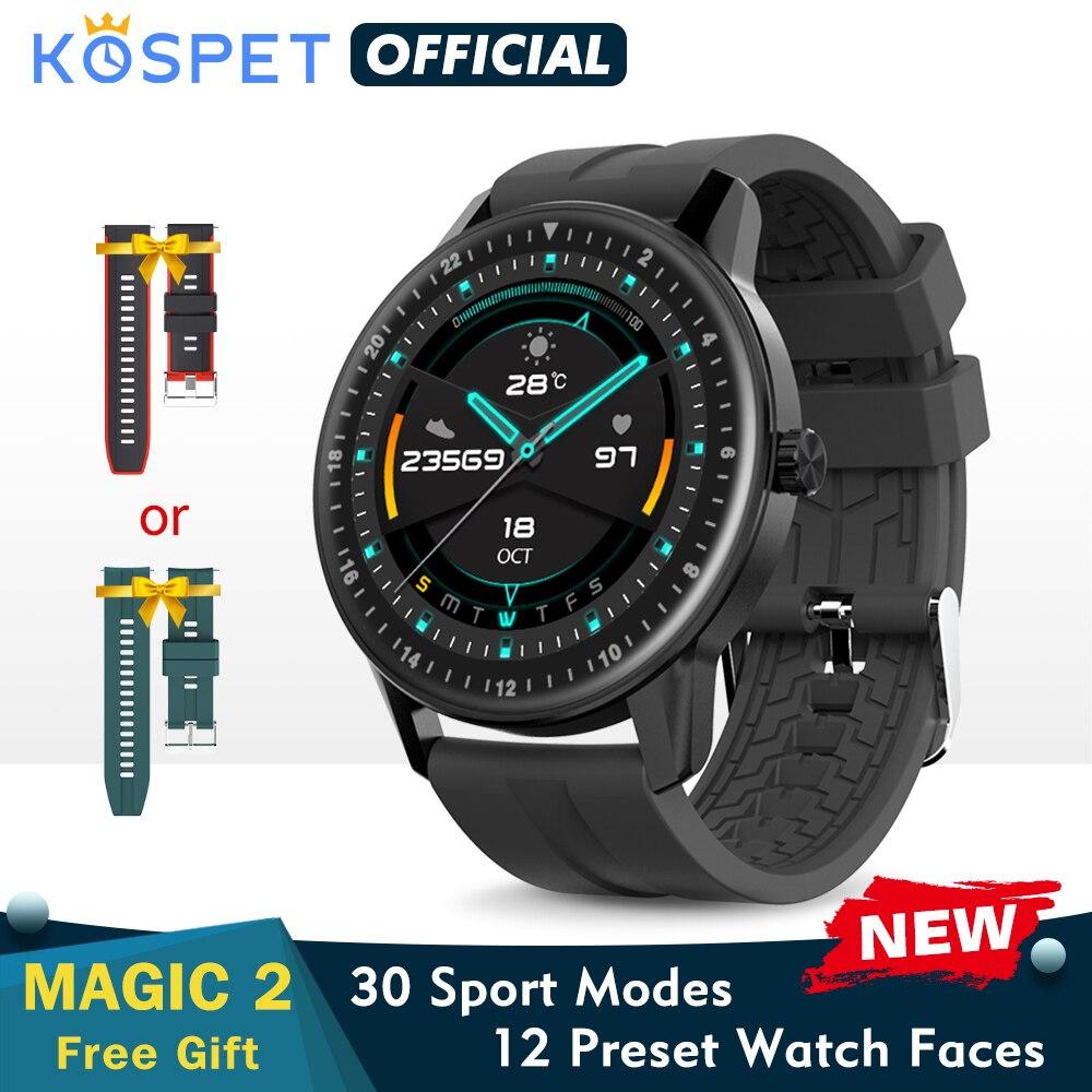 New KOSPET MAGIC 2 Smart Watch Men Waterproof Sport Band Fitness Tracker Bracelet Bluetooth Smartwat
